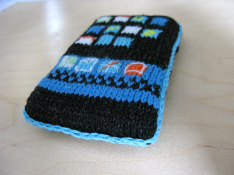 iPhone/iPod cover: angle view